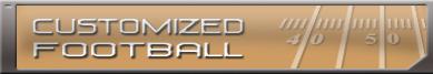 Customized Football homepage